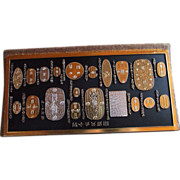 SALE Vintage Collector's Set Of HISTORY Of JAPANESE COINAGE ~~ Rare Collector's Item ...