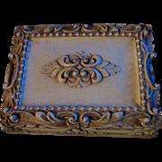 SALE SYROCO WOOD ~ Trinket, Cigar, Card Or Jewelry Box ~ Ornate Leaves & Oh-So ...