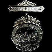 SALE U.O.P.F (Pilgrim Fathers ) 14KT Gold United Order Of Pilgrim Fathers, Marked ...