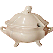 SALE MEIR WORKS/BARKER BROS ~ Antique Ironstone Soup Tureen, Covered Casserole Server, Unclear