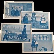 Walk-Over Shoes Advertising Dutch Katherine Maynadier Browne Postcard Lot 1