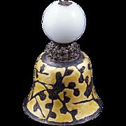 Chinese Mandarin White Peking glass hat finial 19th century