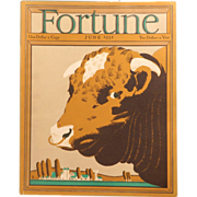 REDUCED Vintage Fortune Magazine June 1931