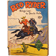 REDUCED Red Ryder Brings Law to the Devil's Hole Dell Publishing from 1939