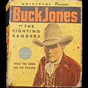 REDUCED Big Little Book of Buck Jones - The Fighting Rangers #1188 from 1936