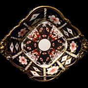 SALE Royal Crown Derby Imari footed compote circa 1912