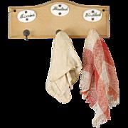 German Dollhouse Hook Rack