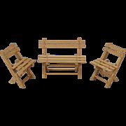 Dollhouse Garden Furniture