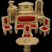 Eight-piece Dollhouse Parlor Suite