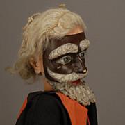 Carved Wood Marionette