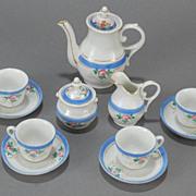 Old Paris Doll's Tea Service