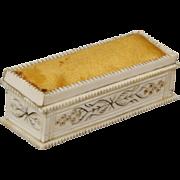 Sewing/Dresser Box/Pin Cushion