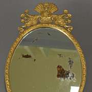 French Oval Mirror