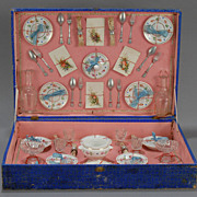 French Faience Dinner Service