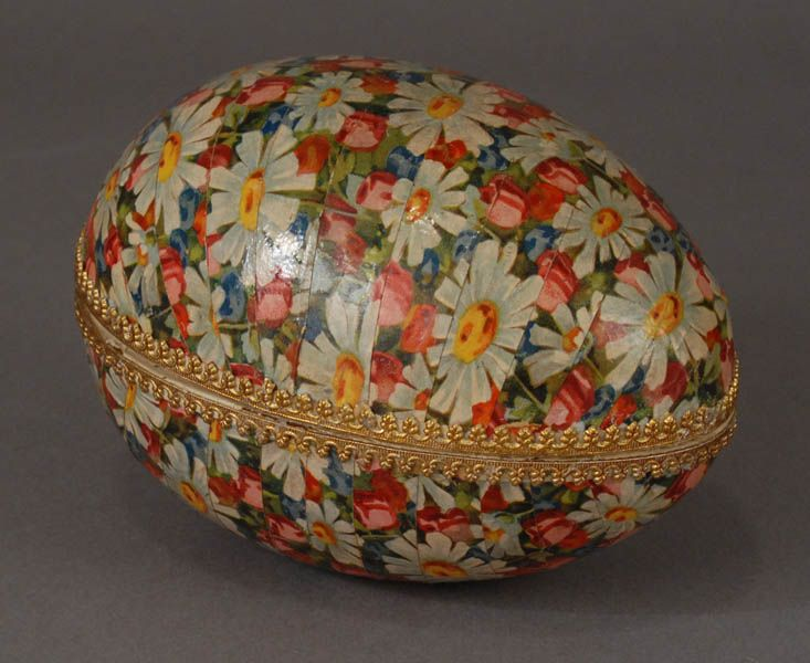 Antique German Candy Container Easter Egg