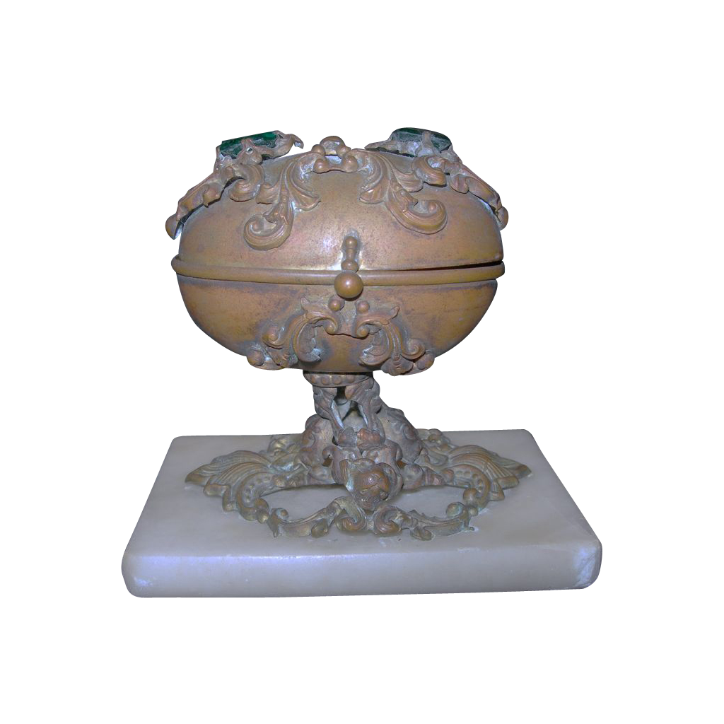 Jewel Presentation Casket from 1860s or Etui
