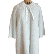 REDUCED Vintage Puffy Bathrobe...Soft, warm and adorable