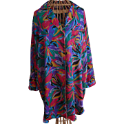 Vintage Adolfo Classics Polyester Robe