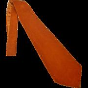 Vintage Wapiti New Zealand Deer Suede Tie