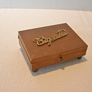 REDUCED Vintage Copper Cigarette Box