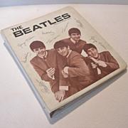 SALE Original The Beatles 3-Ring Vinyl Binder, Nems, Enterprises 1964