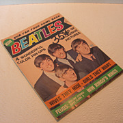"""Vintage The Beatles """"The Fab Four Come Back"""" Magazine"""