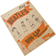 SALE Vintage Beatles Pun Up Screamers