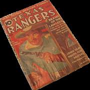 August 1938 Texas Rangers Magazine Vol 7 No 1