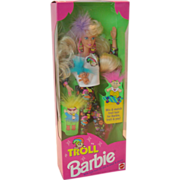 REDUCED Vintage 1992 Troll Barbie NRFB