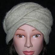 REDUCED Wool Faux Turban