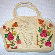 REDUCED Vintage Woven Handbag