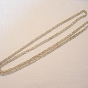 REDUCED Handmade Silver Alloy Chain from North Africa
