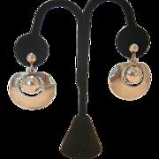 REDUCED Vintage William Spratling Silver Screwback Earrings