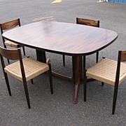 REDUCED Gudme Emobelfabrik, Danish Modern Rosewood Table