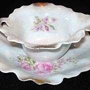 Unique Gravy Bowl Two Piece Set