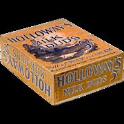 Vintage Milk Duds Box - Holloway's Milk Duds Counter Display Box - 1920's - 1930's ...