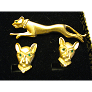 1980's Egyptian Panther set Jackie Collins Set still in Original box