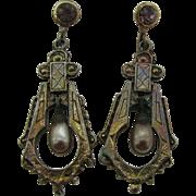 New Old stock drop earrings
