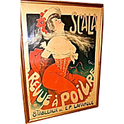 Antique Poster SCALA by jules- Alexander Grun