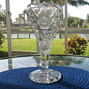 Ornate Imperial 12 in. Chalice Vase 2 of 2 Early 1900s