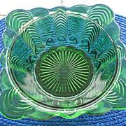 SALE Florida aka Herringbone Square Serving Bowl