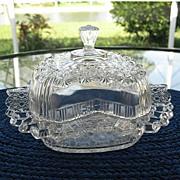 SALE Fashion Daisy Button Butter Dish 1881 Bryce