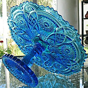 Imperial Blue NuCut 402-1/2 Fashion 13 in. Cake Stand
