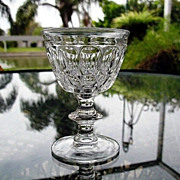 Oval Thumbprints Set 10  Jeannette 1940 Cocktails Sherbets