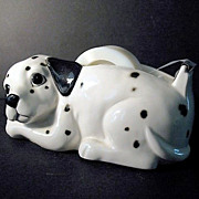 SALE Otagiri Dalmatian Tape Dispenser 1980s