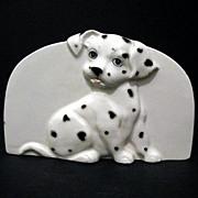 SALE Dalmatian Napkin Sponge Bill Holder Otagiri Made in Japan