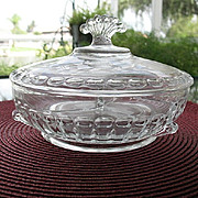 Crystal Etched Candy Box Nerva Wheel Cut