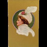 C. Allen Gilbert - Winter Beauty Advertising Fall Fashion