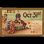 Gottschalk, Dreyfus and Davis Postcard-  Halloween Games And Touch Of Scotland