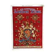 REDUCED Queen Elizabeth II Coronation Week- The Illustrated London News- May 1953